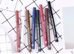 Eyeliner, waterproof, color-free, durable, quick-drying, soft hair pink