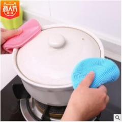Multi-purpose cleaning and cleaning bowl can be reused with ultra-fine fiber cloth random random