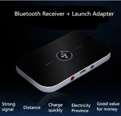Bluetooth transceiver 4.0 receive transmitter Bluetooth receiver black As shown in the figure