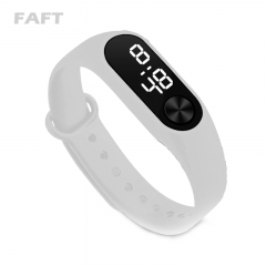 COAF  M2 sport watches touch white light men women multicolor bangle watch White