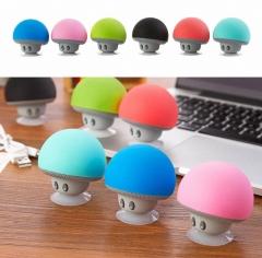 Item: XMG New design mushroom style wireless music bluetooths speaker mini blue tooth speaker yellow 5.5*5.5cm