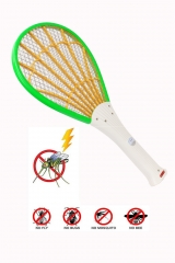 Electric LED Mosquito Swatter Anti Mosquito Fly Repellent Bug Insect Repeller Reject Killers Pest random color 45.5*21.5*1.5cm