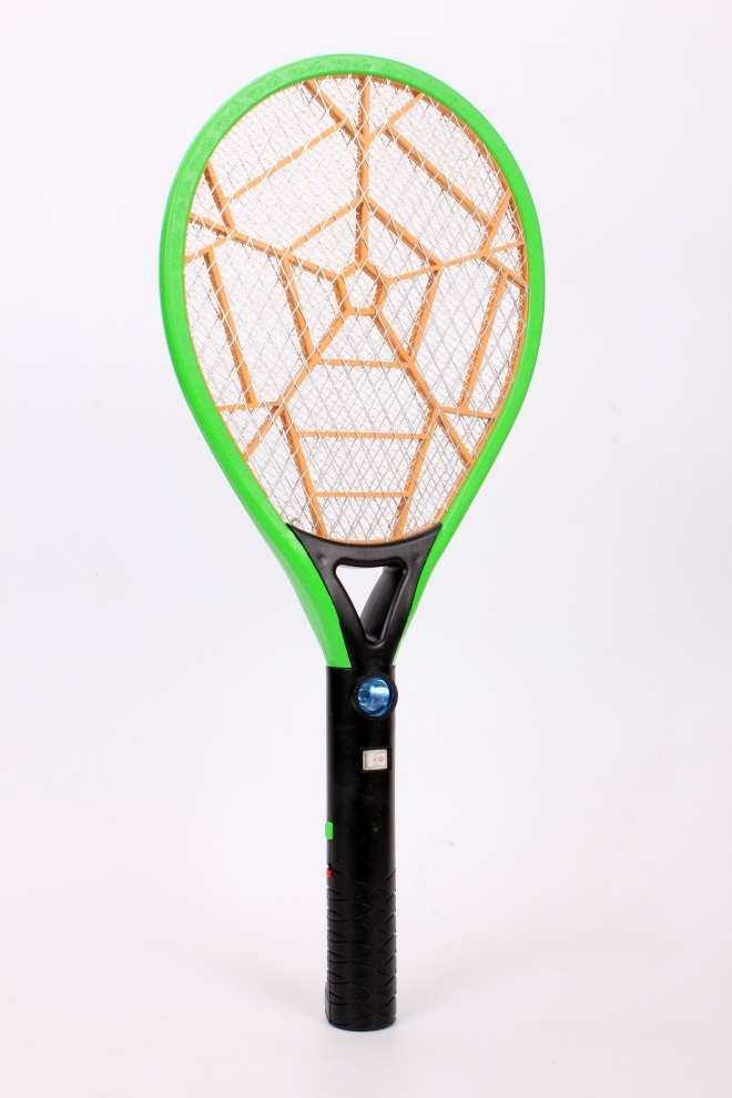 Wp2288 New Mosquito Swatter Killer Electric Tennis With Led Bat