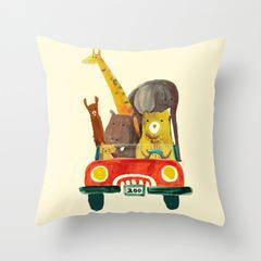 Cartoon Animal Cute Pillowcase for Home Beddding Sofa Cushion Pillow Cover Home Decor Birthday Gift 9 44*44 cm