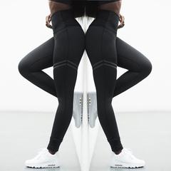 4 Colors Women's Yoga Pants Casual Sports High Waist Leggings Black s