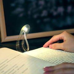 LED Bookmark Reading Light Creative Gift Ultra-thin Nightlight Reading Books Lights as picture 15 DC 3v