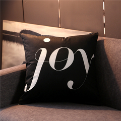 Nordic Style Pillow Covers Sofa Cushion Bedding Pillow Car Seat Office Nap Chair Backrest Pillowcase 11 44*44 cm