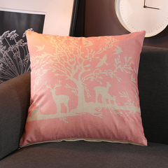 Nordic Style Pillowcases Sofa Cushion Bedding Pillow Car Seat Office Nap Chair Backrest Pillow Cover 12 44*44 cm