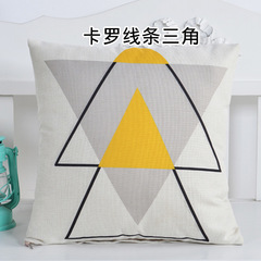 Pillow Case Cushion Cover Nordic Style Home Decoration Sofa Bedroom Pillowcase 6 45*45 cm