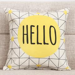 Nordic Geometric Sofa Pillowcase Modern Style Car Bedding Home Sofa Cushion Pillow Case Cover 6 45*45 cm