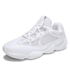 Men's Sports and Leisure Shoes, Breathable Mesh Shoes, Summer Running Shoes white 39