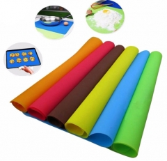 Silicone Mats Baking Liner Best Silicone Oven Mat Heat Insulation Pad Bakeware Kid Table Ma coffee 36.5*22*0.1cm