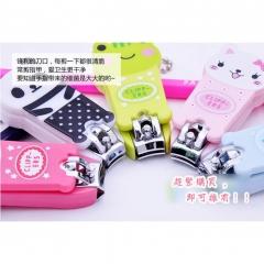 Hello Kitty Cartoon Nail Clippers Lovely  Cute Nail Tool Door Gift Animal Design random  style