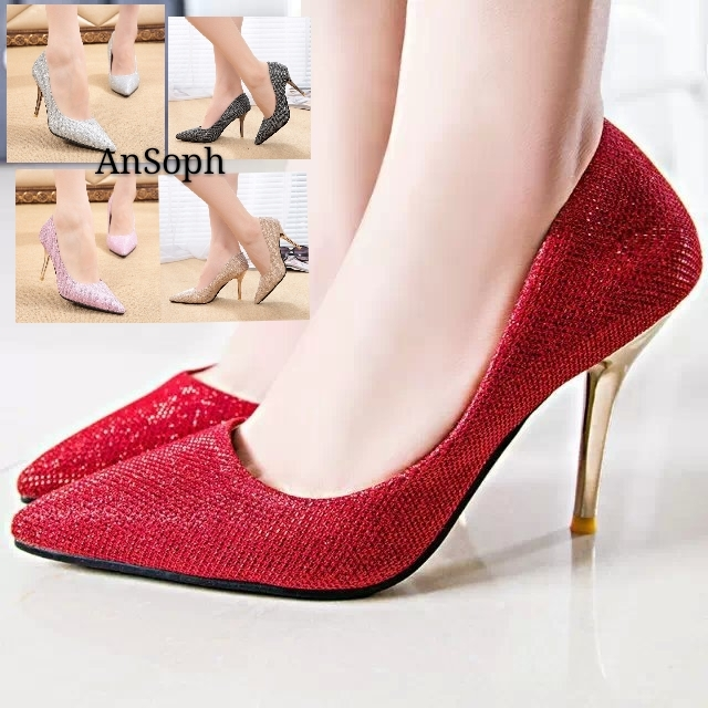 eecfcfa6ff95b6 ... Thin Heel Pointed Women Ladies Sexy Squine Court Party Wedding Shoe  Eelegant Pump red 34  Product No  591390. Item specifics  Brand