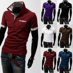 Fashion Short Sleeve T-shirt red m