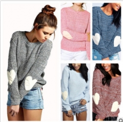 women o neck long sleeve tops sweater lady autumn winter casual leisure brand knitted tops sweater wine red l