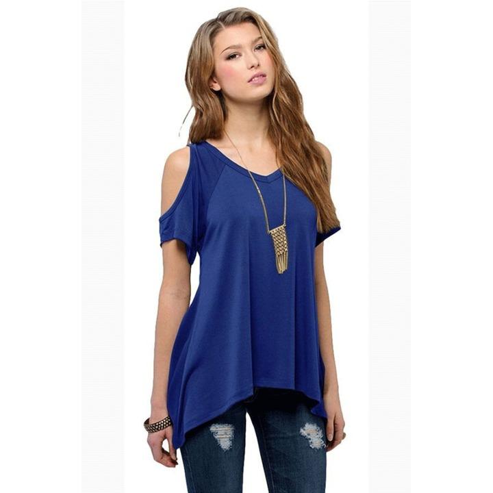 cec6d7586a women v neck off shoulder short sleeve t shirt lady summer holiday casual  tops t shirt