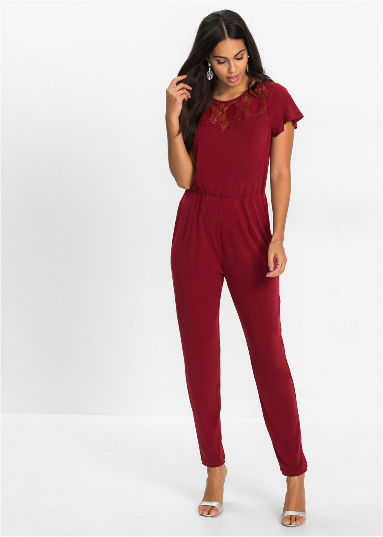 0fd54206b019 S-2XL work office formal jumpsuit casual leisure spring autumn jumpsuit  long pant trousers jumpsuit red s  Product No  636049. Item specifics   Brand