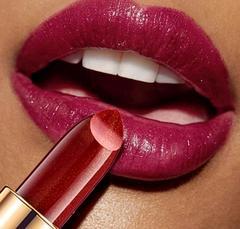 women Makeup mermaid shining metallic lipstick pearlescent  lipstick 10 colors 9