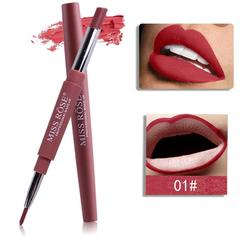 Multifunctional lipstick pen women fashion a red pencil make up lip pencil. 1