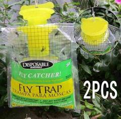 Hanging fly luring bag one-off fly trap bag 2PC/LOT DISPOSABLE FLY TRAP