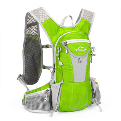 unisex style running racing fishing backpacks outing outdoor vest packs.soft handle backpack green <20l