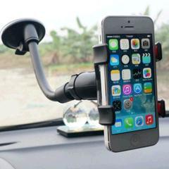 Mini Navigation Sucker Mobile Bracket Simple Vehicle Mobile Bracket phone holder stand black one size