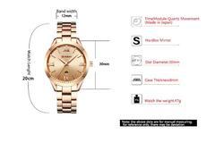 Watch Women Quartz Watches Ladies Top Brand Luxury Female Wrist Watch Girl Clock Relogio Feminino gold