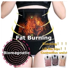 Newest Lady Biomagnetic Power To Fat Burning Thin Waist Underwear Slimming Pants Without Traces Sexy skin one size