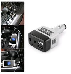Car Mobile Converter Inverter Adapter DC 12V/24V to AC 220V Charger Power