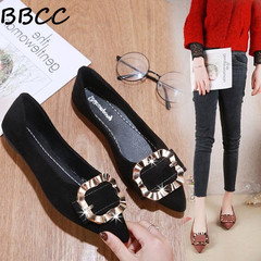 Good Quality and Low Price Women's shoes Fashion Shoes Ladies shoes   Casual Pointed Flat Shoes black 35