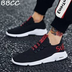 New promotions Sports Shoes man Running Sports Breathable lightweight wear-resistant shoes black 39