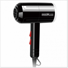 Household six hot and cold wind blow hair-dryer High-power hair dryer white