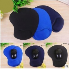 Non-slip rubber mouse pad wristbands wristbands pad Colors mixed hair 20*24*1cm