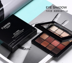 16-Color retro eye shadow plate As shown in the figure