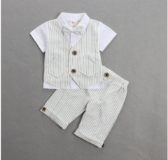 Children's clothes gentleman boy suit handsome white 80cm