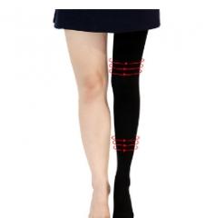 Slim leg pantyhose black As shown in the figure