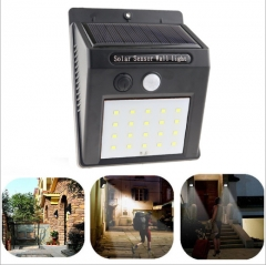 Solar energy wall lamp charging induction waterproof outdoor garden courtyard lights