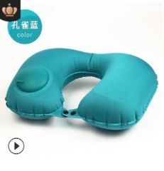 Automatic air u-shaped pillow to travel by car artifact portable plane