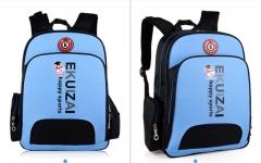 Elementary school children's backpack backpack blue as shown in figure