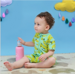 The summer triangle jumpsuits in infants Printing clothes As shown in figure 80cm