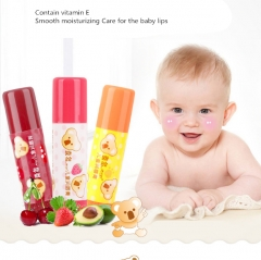 Infant lip balm Baby its moisturizing milk strawberry cherry lip balm 3 pens As shown in figure as shown in figure