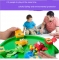 The frog to eat beans parent-child interactive toys Children's puzzle casual games green as shown in figure