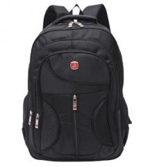 Stylish Men Waterproof Large Capacity Bag Travel Laptop Backpack Nylon Men's Backpacks School Bag black one size