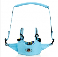 Multi-function baby learning to walk Ma3 jia3 type toddler belt in infants blue as shown in figure