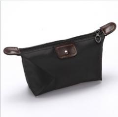 Hot makeup bag waterproof storage wash bag black one size