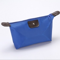 Hot makeup bag waterproof storage wash bag dark blue one size