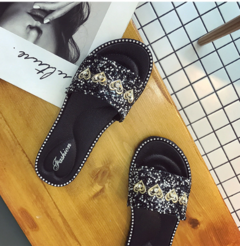 Summer CHIC CHIC CHIC CHIC beach casual cool slippers black 36-40