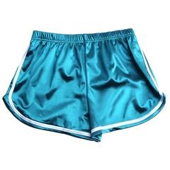 Ladies Wear Joss-worn Silky Sweet Sport Casual Shorts green XL