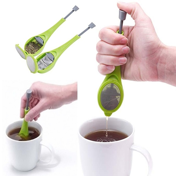 Tea Filter And Coffee Infuser-green green as shown in figure